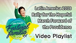 Latin America Summit 2018 Rally for the Hopeful March Forward of the Providence